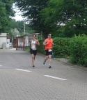 Lieben Dank an meinen netten Motivator auf den letzten Kilometern!